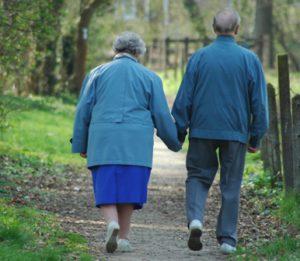 Fachmännische Seniorenpflege