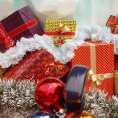 Weihnachtszeit gleicht Shopping-Zeit