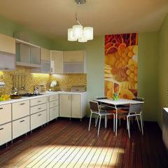 Mit Wandmotiven mehr Coolness in der Küche?